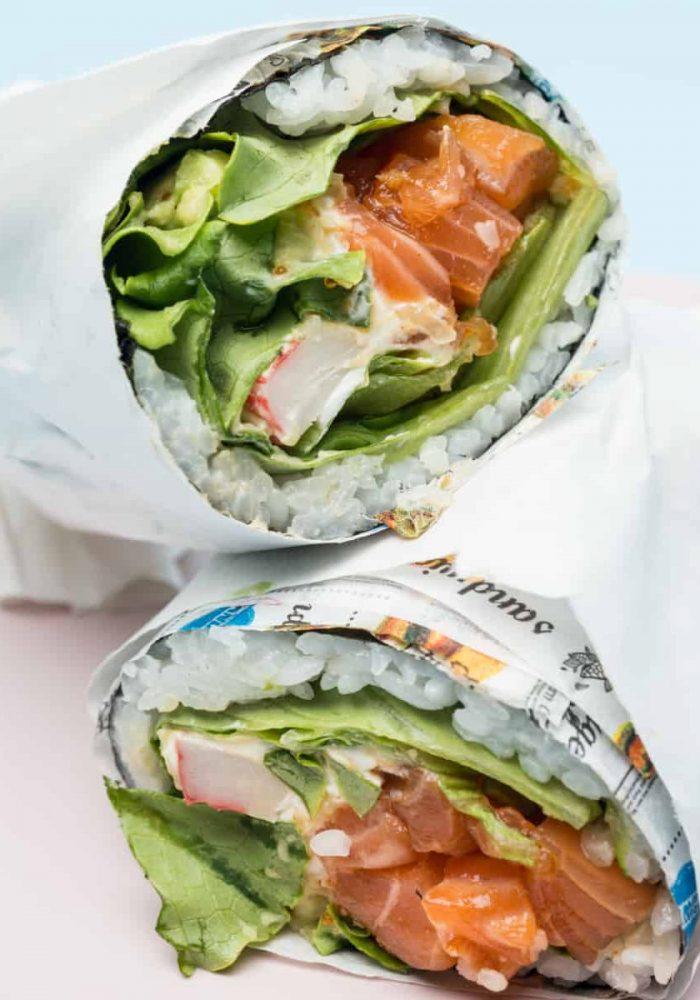 Kona Poke Milano burritos